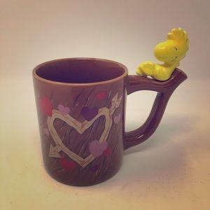 Vintage Peanuts Coffee Mug Woodstock